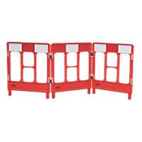 JSP Workgate 3-Gate Barrier Red