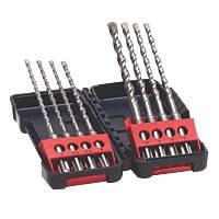 Bosch  SDS Plus Shank Tough Box Hammer Drill Bit Set 8 Pcs