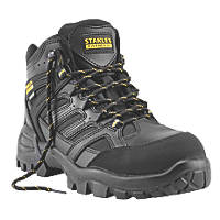 Stanley FatMax Ontario   Safety Boots Black Size 9