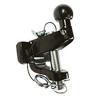 Maypole 20 kN Black Ball & Pin Towing Hitch 179mm