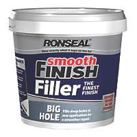 Ronseal Big Hole Ready Mixed Wall Filler Grey 1.2Ltr