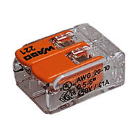 Wago  41A 2-Way Lever Connectors 50 Pack