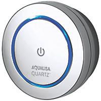 Aqualisa Quartz Digital Shower Remote Control Chrome