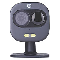 Yale SV-DAFX-B 12V Power Supply Black Wired 1080p Indoor & Outdoor Dome Front Door IP Camera