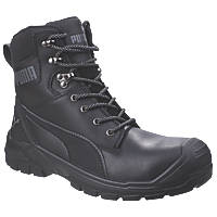 Puma Conquest Metal Free  Safety Boots Black Size 10