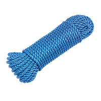 Polypropylene Rope Blue 10mm x 27m