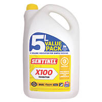 Sentinel X100 Central Heating Scale Inhibitor 5Ltr