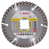 Bosch X-Lock Concrete/Stone Diamond Cutting Blade 115 x 22.23mm