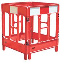 JSP Workgate 4-Gate Barrier Red