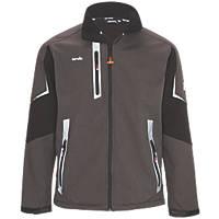 "Scruffs Pro Soft Shell Work Jacket Charcoal Medium 42"" Chest"